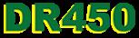 DR450 – Alarmas
